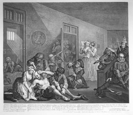 William Hogarth's Bedlam