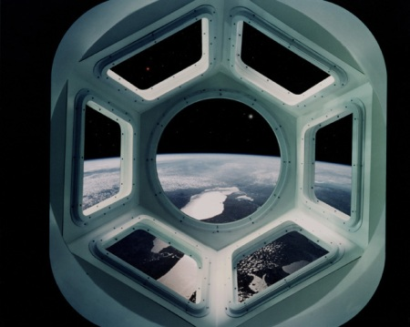 How the Cupola will look on the ISS once installed.