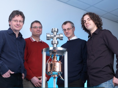 The NPL Boltzmann Team with 'Cranberry 2' cavity reson