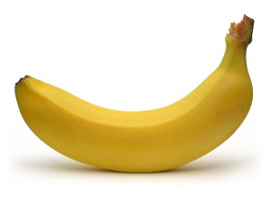 A picture of a radioactive banana