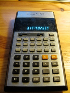 Casio fx120 Calculator