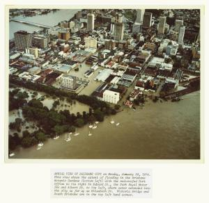 Picture of Brisbane in 1974