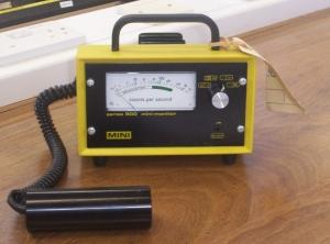 Geiger-Müller radiation detector
