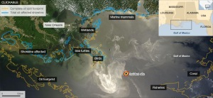 Gulf of Mexico Oil Spill Map