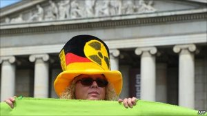 A German Anti-Nuclear Protester