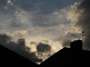 Above Church Road Teddington - Notice the filigree layers of cloud