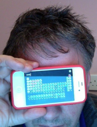 Me and my iPhone.