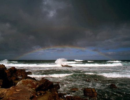 Rainbow at the Cape of Good Hope