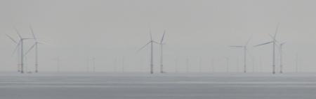 Wind Turbines off Llandudno in North Wales