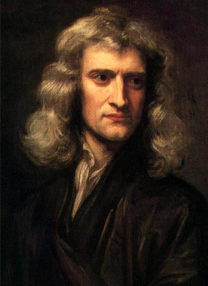 Isaac Newton. Just imagine what he might have achieved if he had had an Apple iMac!