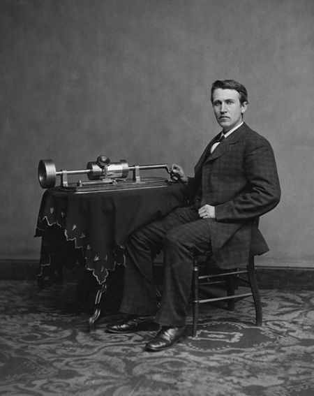 Thomas Edison, possibly the greatest inventor of all time. Picture from Wikipedia
