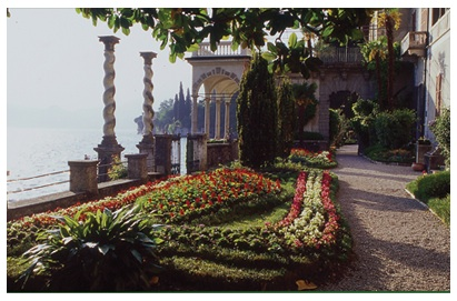 Villa Monastero in Varenna, Italy