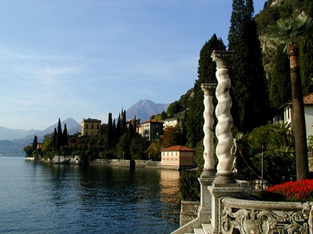 View from the terrace of the Villa Monastero, Varenna