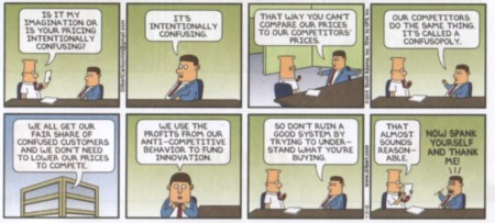Dilbert Confusopoly