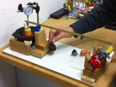 Terry Quinn and his nephew have built a simple version of a Watt Balance - a revolutionary way of measuring mass!