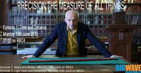 A television programme about precision measurement? Yes!