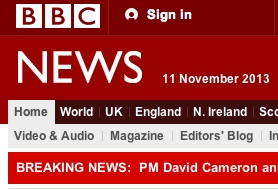Why isn't BBC news distinctly different from other News Web sites?