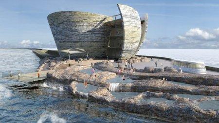 Swansea lagoon visitors centre