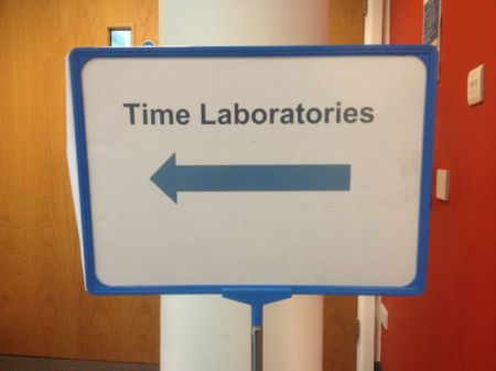 TIme Laboratories this way...