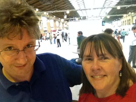 Me and Steph at the Gare du Nord