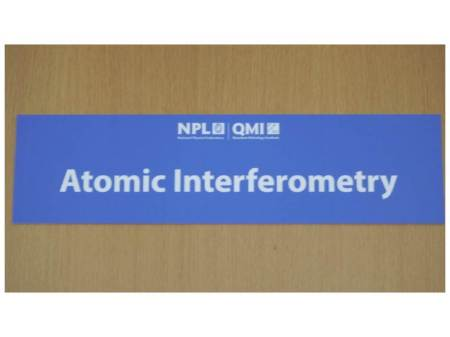 Just one of several hundred signs on NPL Laboratory Doors. The movie below has them all!