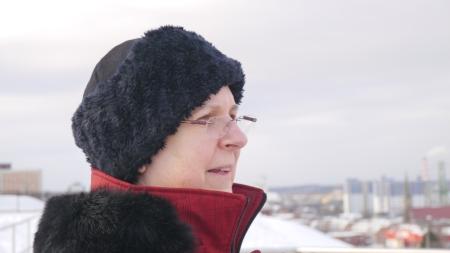 Professor Mary Anne White from Dalhousie University Halifax, Nova Scotia