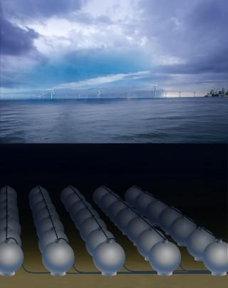 German Undersea Spheres