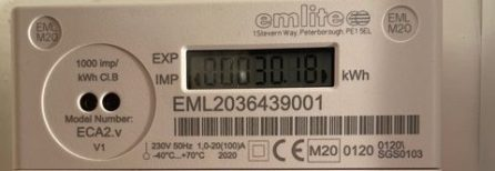 Generation meter detail. 30.18 kWh generated in the last 8 days.